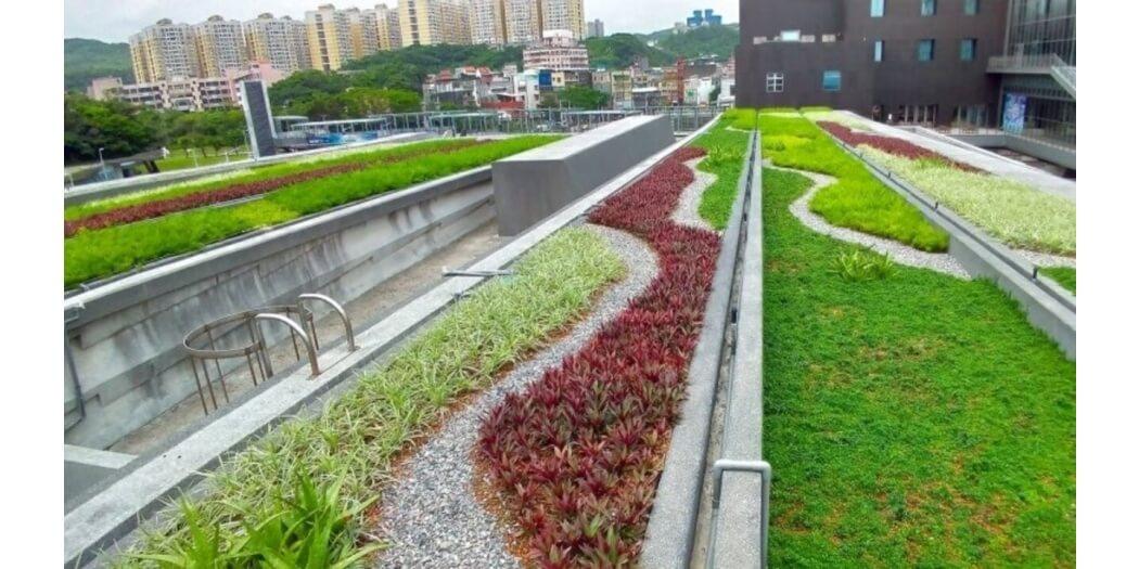 基隆海博館綠屋頂