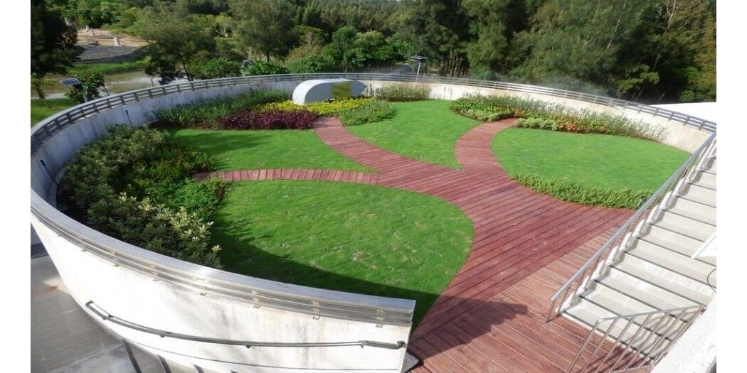 金門環保局綠屋頂