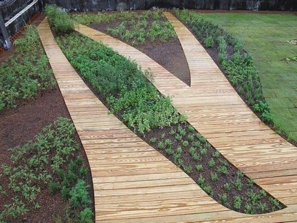 蓄排水板綠化案例