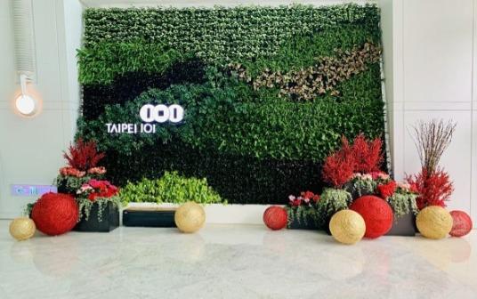 101大樓綠化4