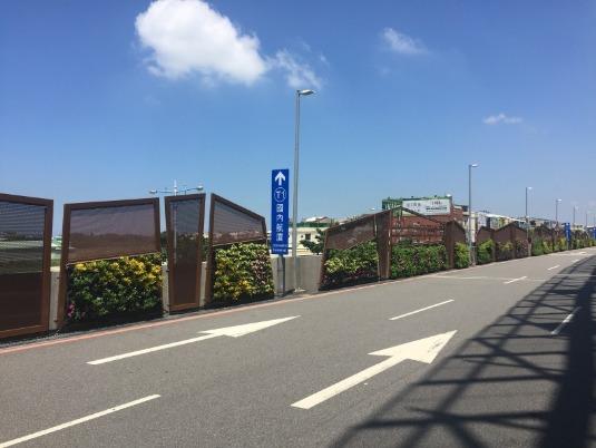 台中機場綠牆2