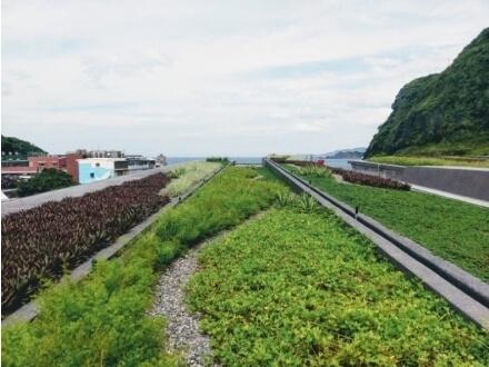 基隆海科館綠屋頂